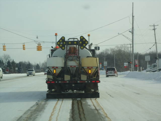 MDOT herbicide / anti-ice unit.